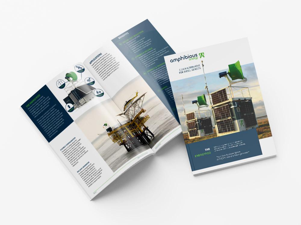 Brochure ontwerp Amphibious Energy