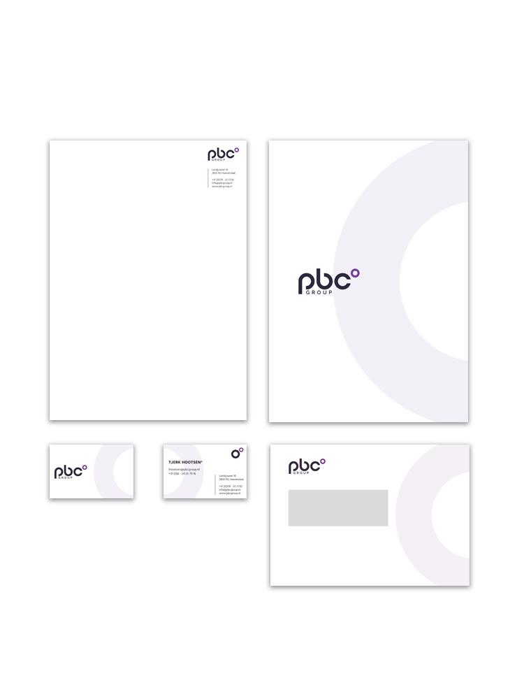Huisstijl ontwerp PBC Group