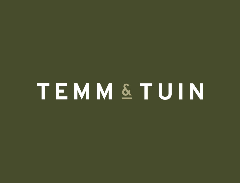 Logo ontwerp TEMM & TUIN