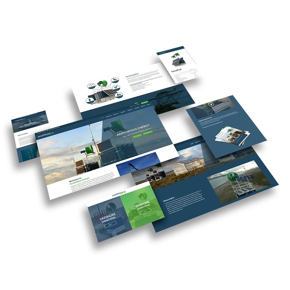 Website ontwerp Amphibious Energy