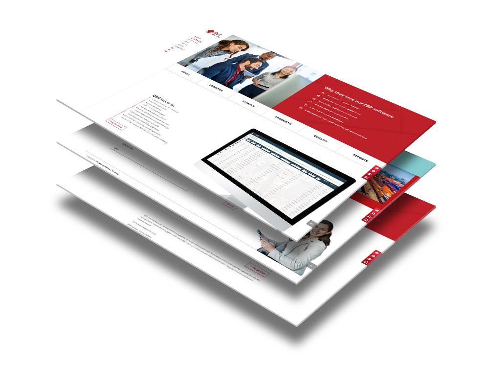 Website ontwerp Qbil Software