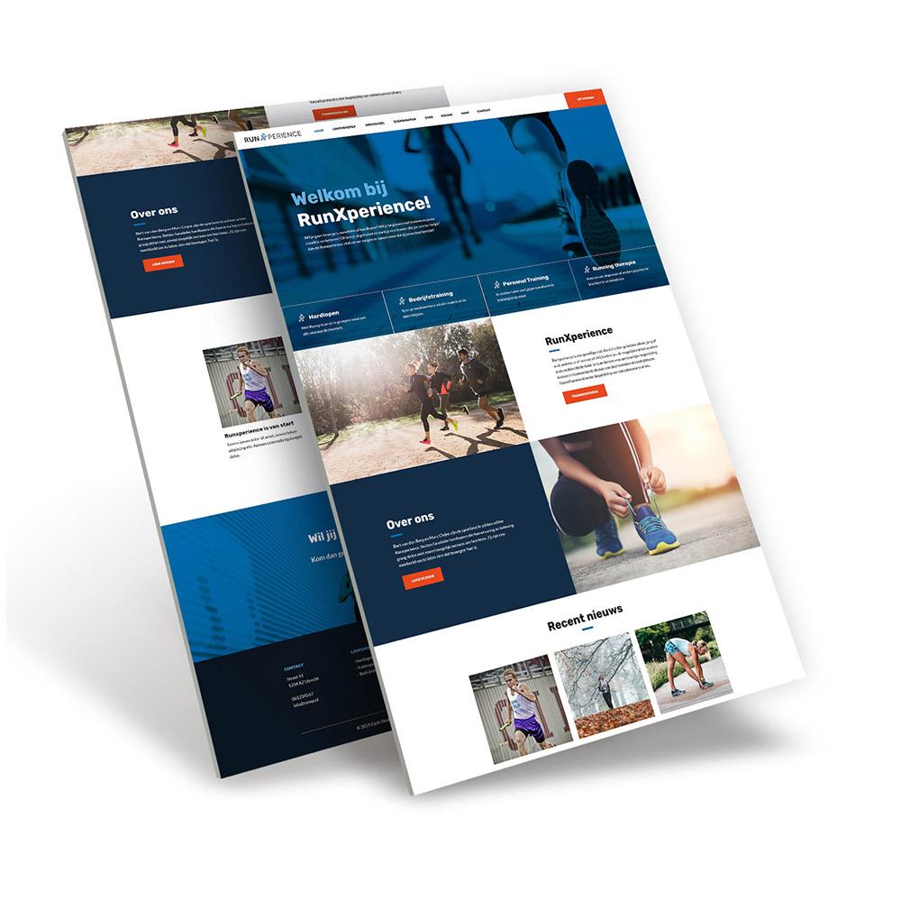 Website ontwerp Runxperience